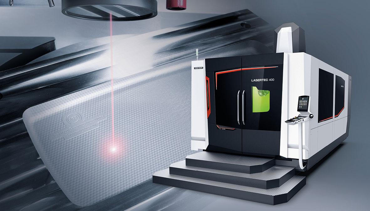 Weltpremiere: Die neue Lasertec 400 Shape.