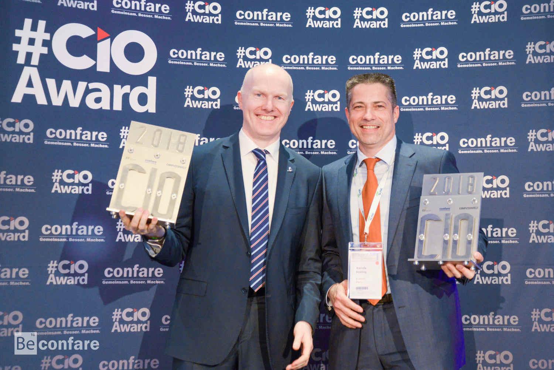 Die Gewinner: Alexander Bockelmann (UNIQA, li.), Martin Buresch (Kwizda Holding, re.)