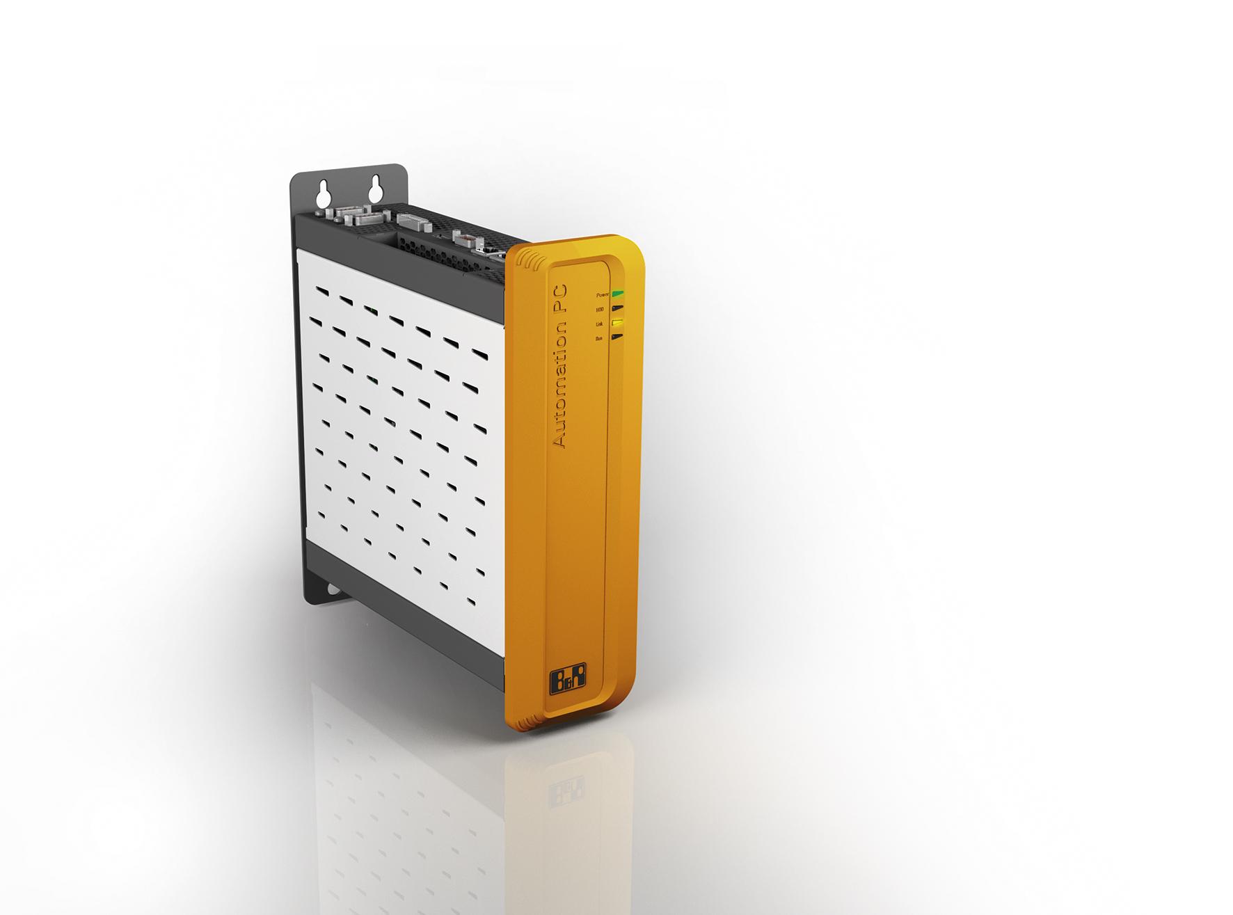 Ein Automation PC 910 mit der gebrauchsfertigen Software Aprol EnMon reicht aus, um ein vollständiges Energie-Monitoring-System einzurichten.