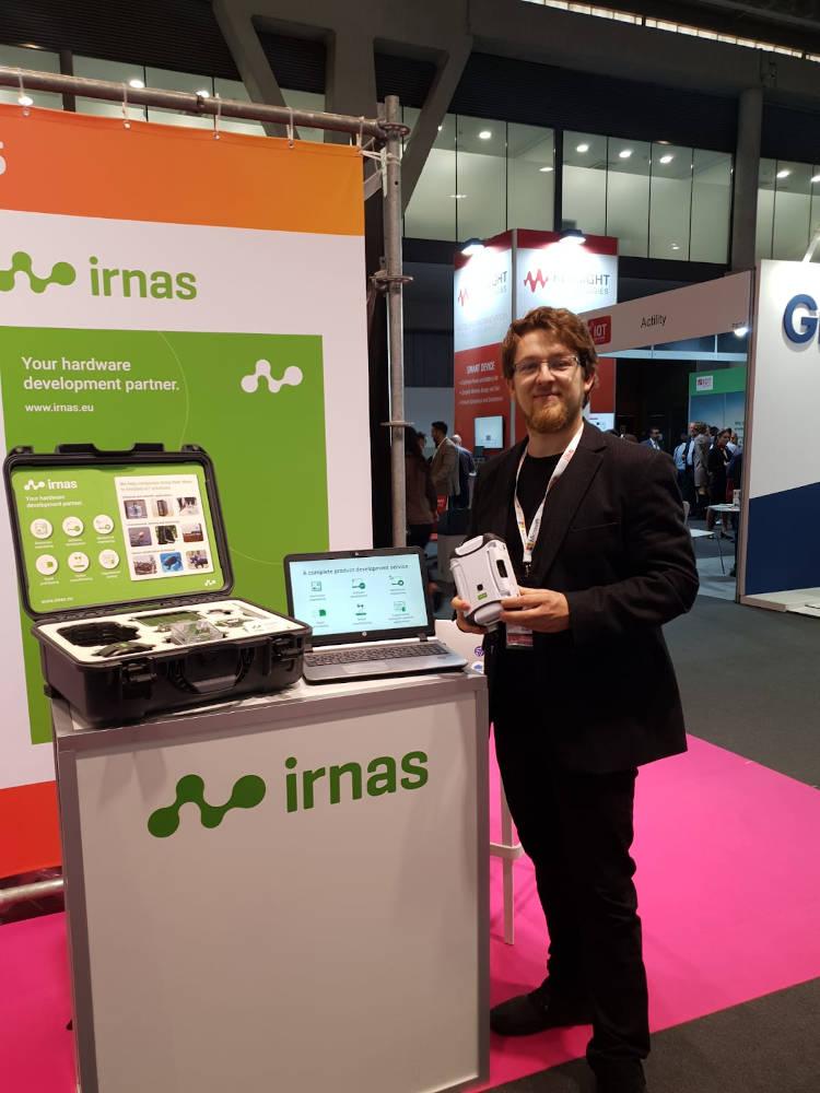 Luka Mustafa, CEO und Gründer des slowenischen Start-ups IRNAS.