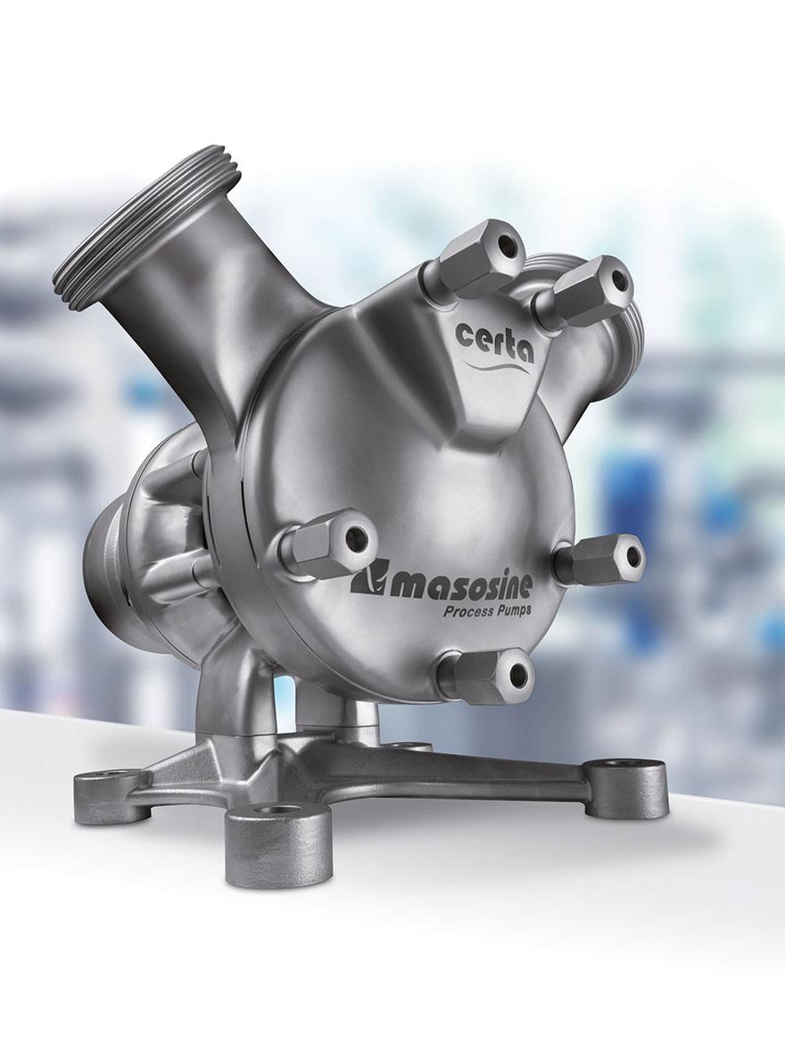 Das wichtigste Argument für den Pumpeneinsatz ist ihre produktschonende Arbeitsweise, die eine möglichst pulsationsarme Förderung mit geringen Scherkräften garantiert.