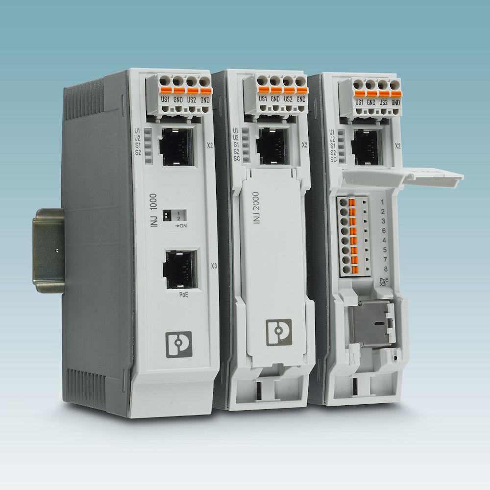 Die Power over Ethernet-Injektoren verfügen darüber hinaus jetzt über eine Atex-Zulassung.