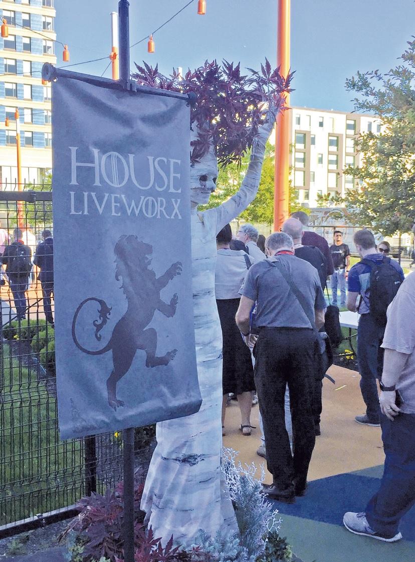 Bei der Abschlussfeier im angrenzenden Hotelpark kamen heuer Game of Thrones-Fans nicht zu kurz.