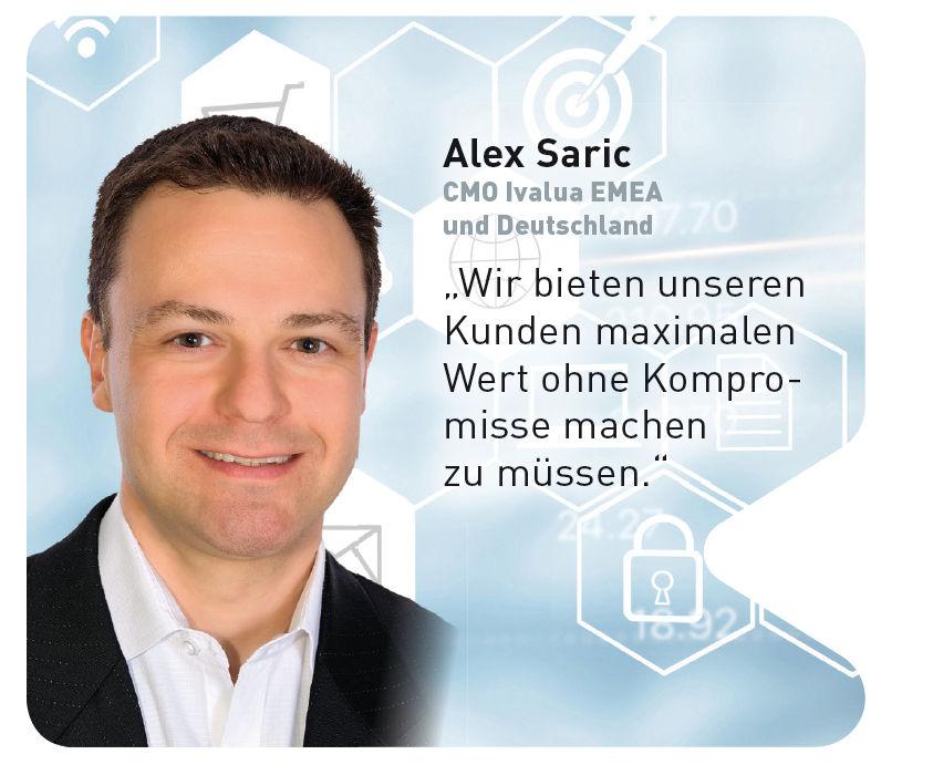 Alex Saric, CMO Ivalua EMEA und Deutschland