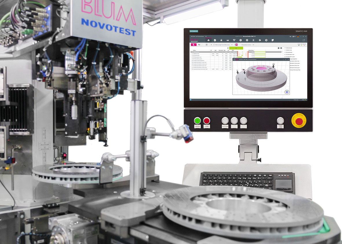 Die neu entwickelte Mess- und Auswertesoftware M4P wurde speziell für die Post-Prozess-Messanlagen von Blum-Novotest entwickelt.