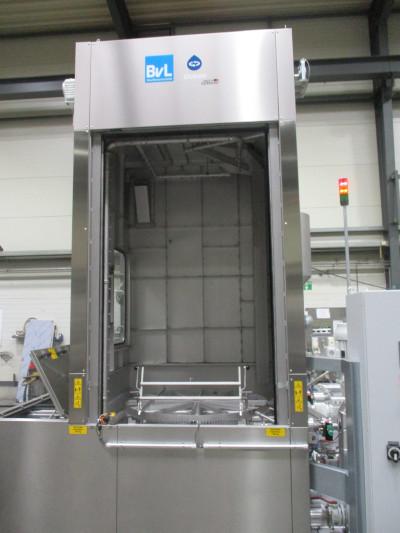 BvL Drehtelleranlage Ocean mit Sondernutzhöhe für bis zu 2.200 mm lange Karosserieteile (Strangpressprofile)