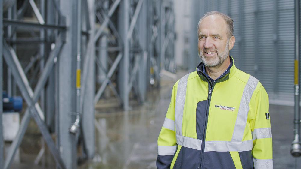 Christian Pedersen ist mit dem Leistungsspektrum und mit der Zusammenarbeit bei der Auswahl des korrekten Getriebemotors sehr zufrieden.