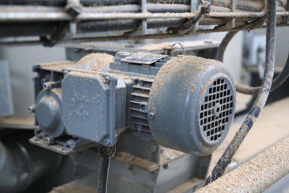Der in einem Getreideterminal unvermeidliche Staub schadet den robusten Nord-Getriebemotoren überhaupt nicht.