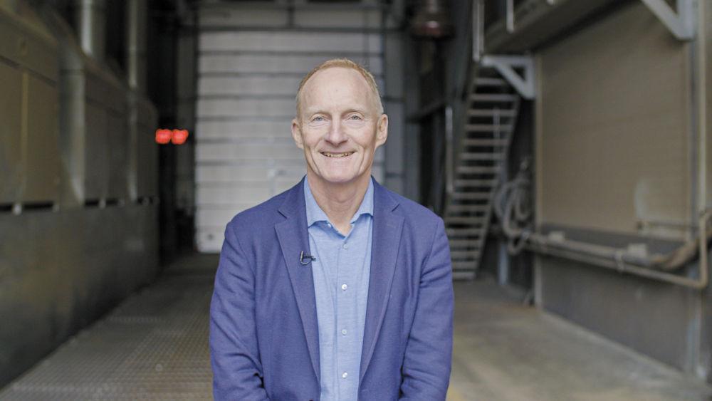 Klaus G. Andersen von Fredericia Shipping hat die stabile Funktion der Nord-Antriebssysteme in seiner Anlage vollauf überzeugt.
