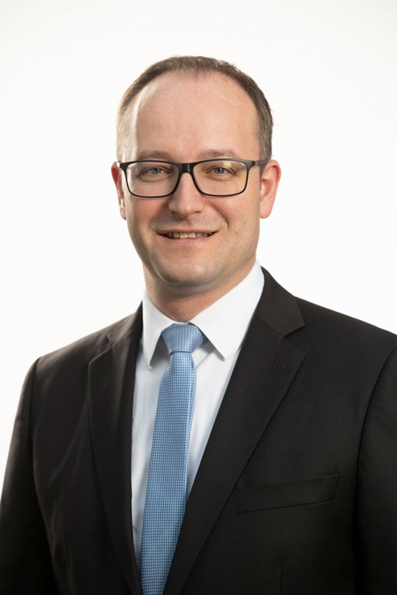 Dr. Volker Lindenau, Leiter des Geschäftsbereichs Antriebstechnik bei ABB Deutschland