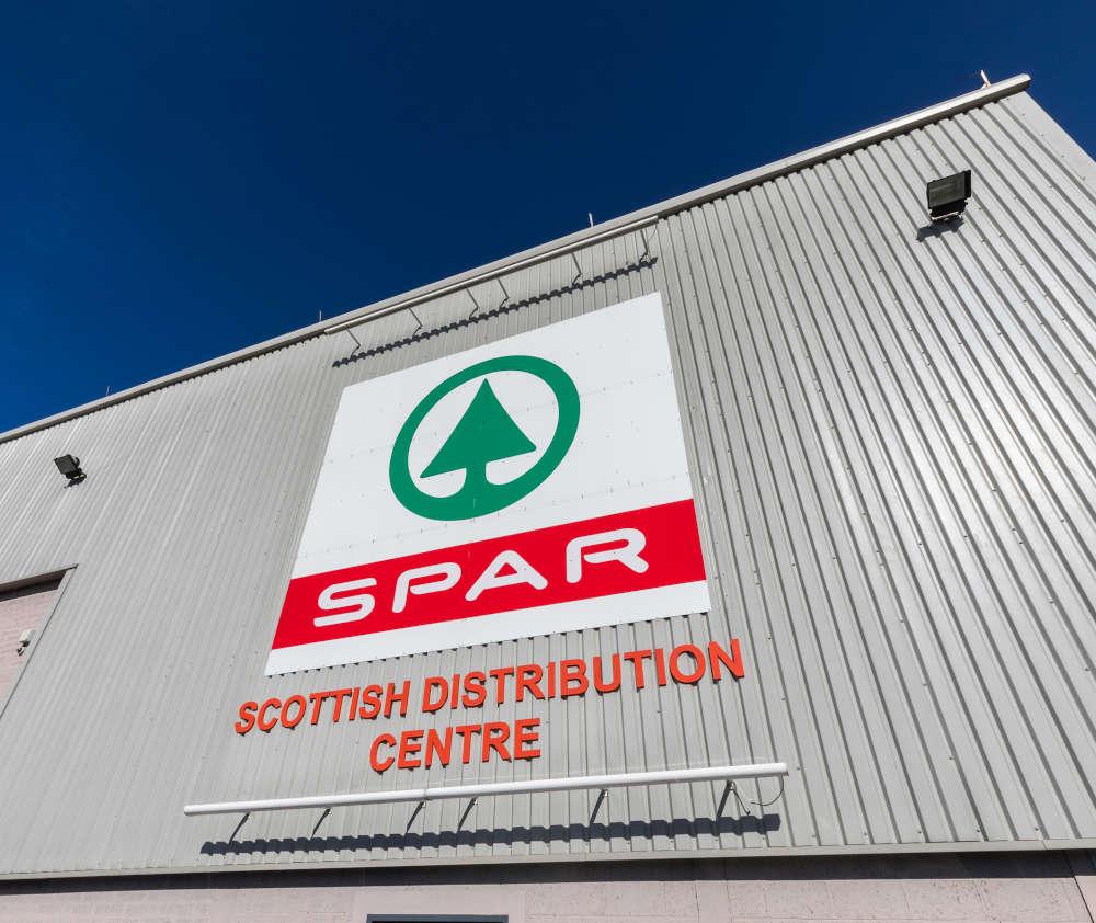 Der Betrieb in Dundee ist die zentrale Drehscheibe für über 350 SPAR-Filialen in Schottland.