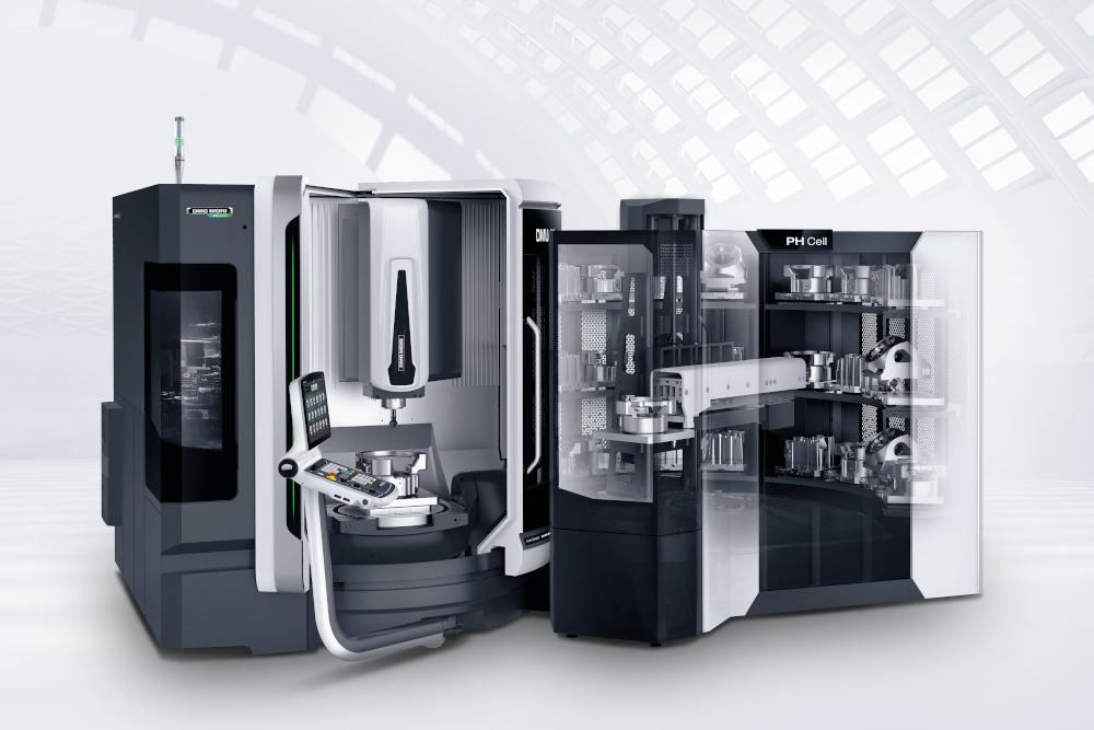 Die Ausstellung umfasst ganzheitliche Automationslösungen wie den PH CELL, der durch seinen modularen Aufbau ein Höchstmaß an Flexibilität für Paletten in unterschiedlichen Größen bietet.