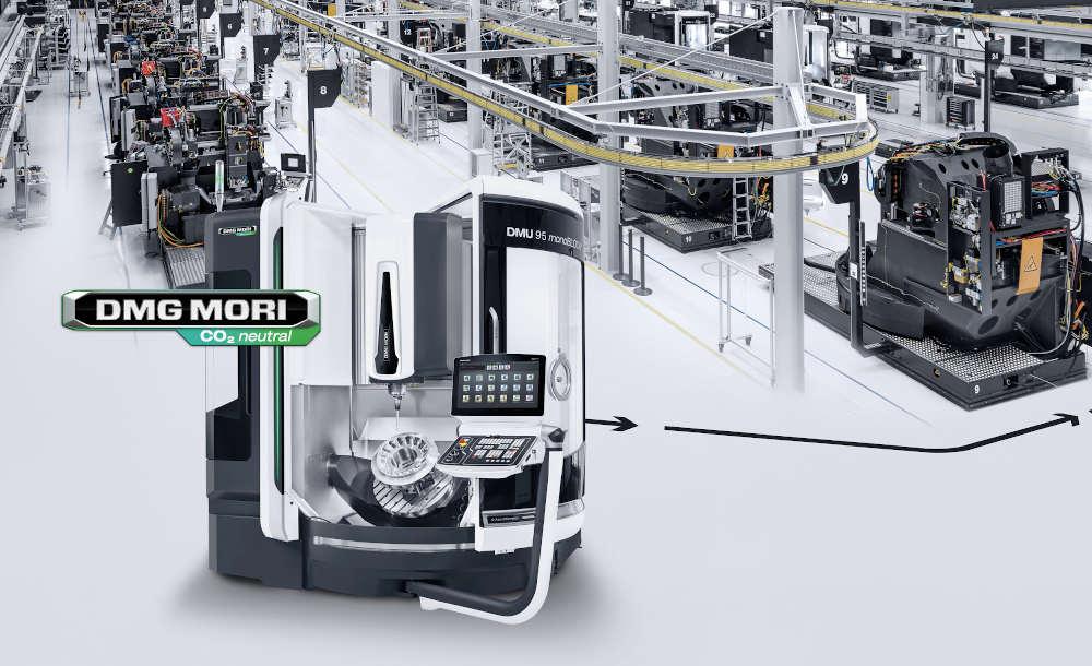 Die Ausstellung auf der PRE-EMO umfasst 25 Hightech-Maschinen – alle CO2-neutral.