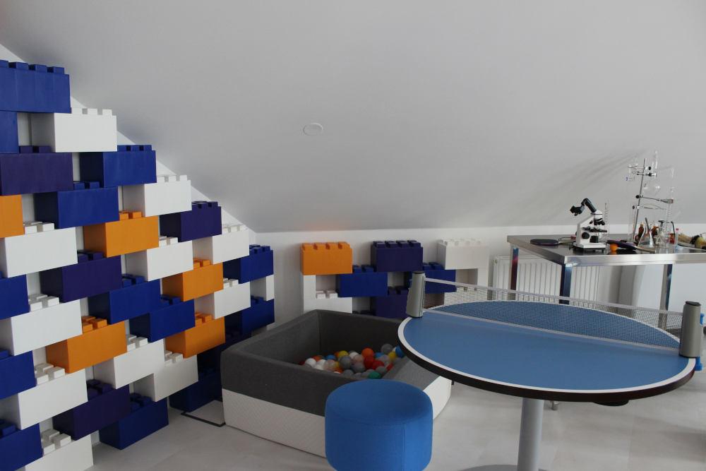 Bei Rexel am Standort im 2. Bezirk in Wien haben Mitarbeiter die Möglichkeit auch kreativ in eigenen Räumen ihre Ideen umzusetzen.